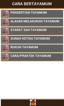 Cara Tayamum apk screenshot