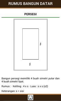 Rumus Bangun Datar apk screenshot