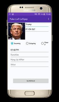 Fake voice Call PRO apk screenshot