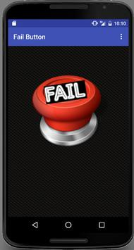 Fail Button poster