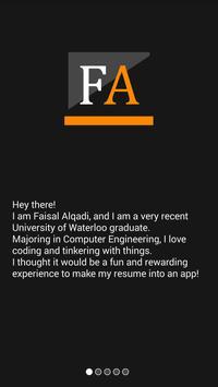 FaisalAlqadi Resume poster
