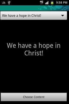 BIBLE Sms (text messaging) apk screenshot