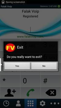 FalakVoip Itel apk screenshot