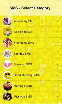 SMS Messages Collection apk screenshot