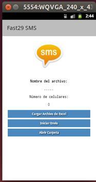 Envios masivos SMS 1.0 poster