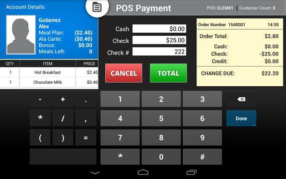 FastTab POS apk screenshot