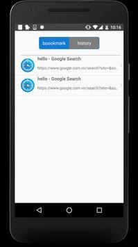 OS10 Browser - Fast & Light apk screenshot