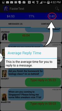 FasterText - Express Texting apk screenshot