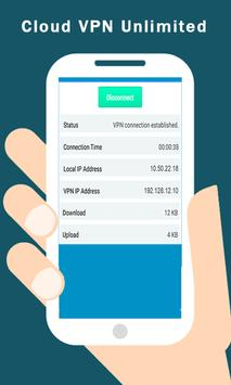 Free Cloud VPN Unlimited Tips apk screenshot