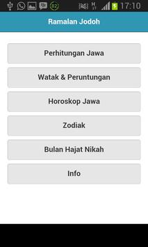 Ramalan Jodoh apk screenshot
