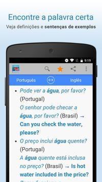 Português-Inglês Tradução apk screenshot