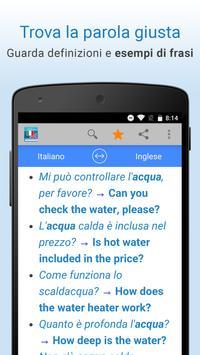 Italiano-Inglese Traduzioni apk screenshot
