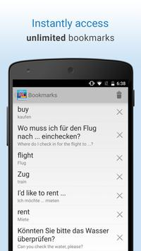 English-German Translation apk screenshot