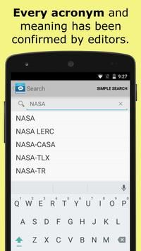 Acronyms and Abbreviations apk screenshot