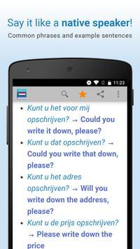 Dutch Dictionary & Thesaurus apk screenshot