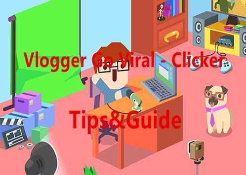 Guide Vlogger Go Viral Clicker apk screenshot
