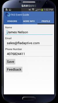 FAS Event Guide apk screenshot