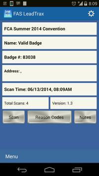 FAS LeadTrax apk screenshot