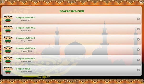 Ucapan Idul Fitri apk screenshot