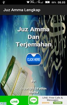 Juz Amma Lengkap poster