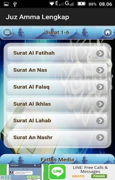 Juz Amma Lengkap apk screenshot