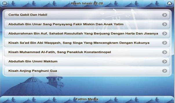 Kisah Islami apk screenshot