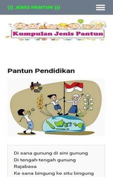 Kumpulan Jenis Pantun poster