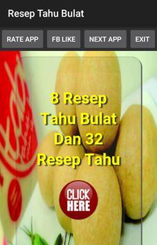 Resep Tahu Bulat poster