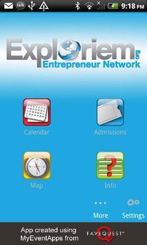 Exploriem.org poster