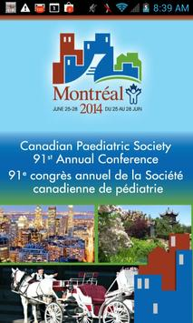 Canadian Paediatric Society poster