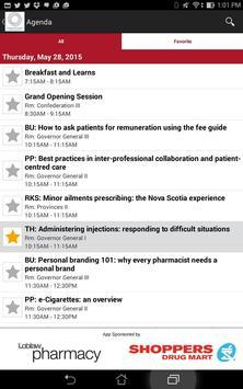 Canadian Pharmacists Conf. apk screenshot