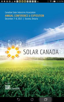 Canadian Solar Conferences poster
