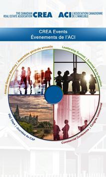 CREA Events poster
