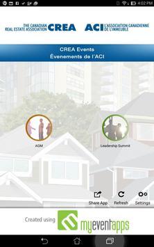CREA Events apk screenshot