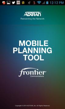 ADTRAN Mobile Frontier Tool poster