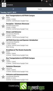 ADTRAN Events apk screenshot