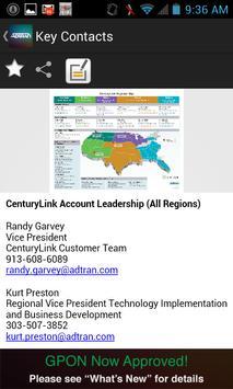 ADTRAN Mobile CenturyLink Tool apk screenshot