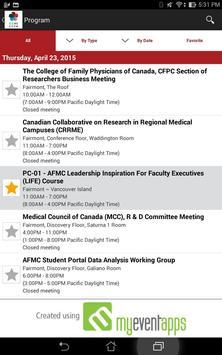 MedEdConference2015 apk screenshot