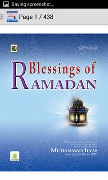 Islamic Blessings of Ramadan apk screenshot