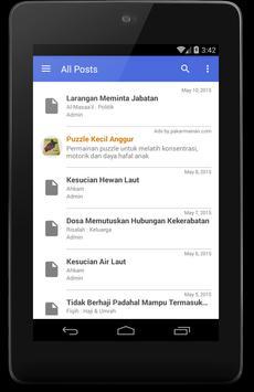 Almanhaj.or.id apk screenshot
