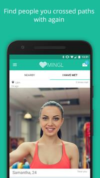 MINGL - Flirt Chat, new people apk screenshot