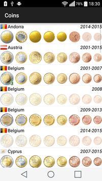 Euros Collection apk screenshot