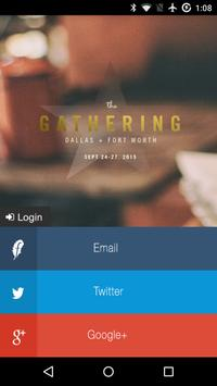 The Gathering 2015 poster