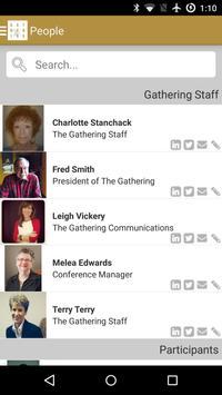 The Gathering 2015 apk screenshot