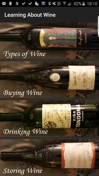 Learning About Wine poster