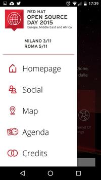 Red Hat Open Source Day Italia apk screenshot