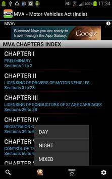 MVA - Motor Vehicles Act poster