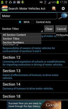 MVA - Motor Vehicles Act apk screenshot