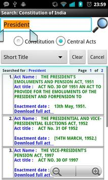 Constitution of India apk screenshot