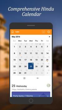 Hindu Weather Calendar poster